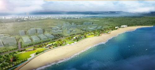 青岛西海岸金沙滩景区整体提升工程